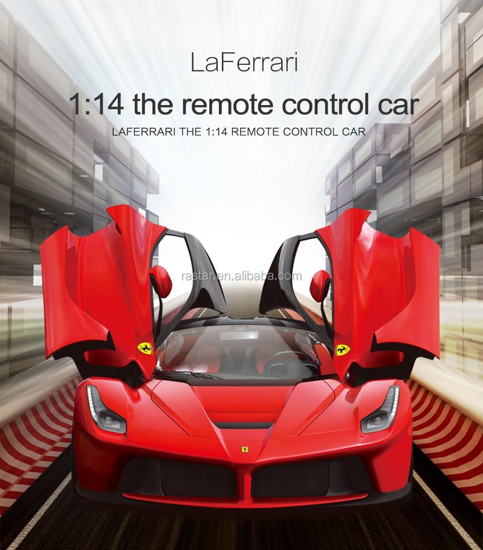 Rastar Ferrari LaFerrari licensed 1 14 scale rc open door car toy & Rastar Ferrari Laferrari Licensed 1 14 Scale Rc Open Door Car Toy ...