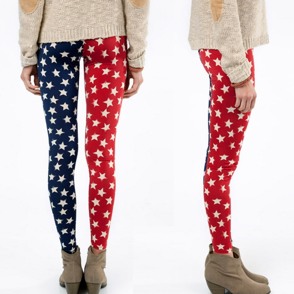 MS66054W star printing women new mix leggings wholesale