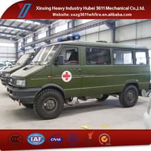 China Supplier New Manual Emergency Rescue Cheap Ambulance 4X4