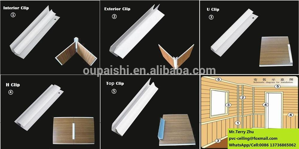 Good Quality Pvc Wall Panel With Wood Texture Lamination 25cm ...