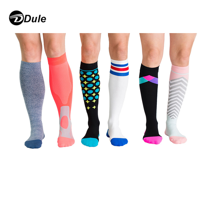 DL-II-0207 support socks for women athletic compression socks for women