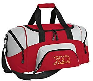 SMALL Chi O Travel Bag Chi Omega Gym Bag