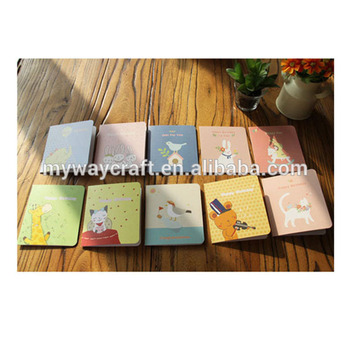 Korean fashion children's greeting card,paper craft handmade birthday card