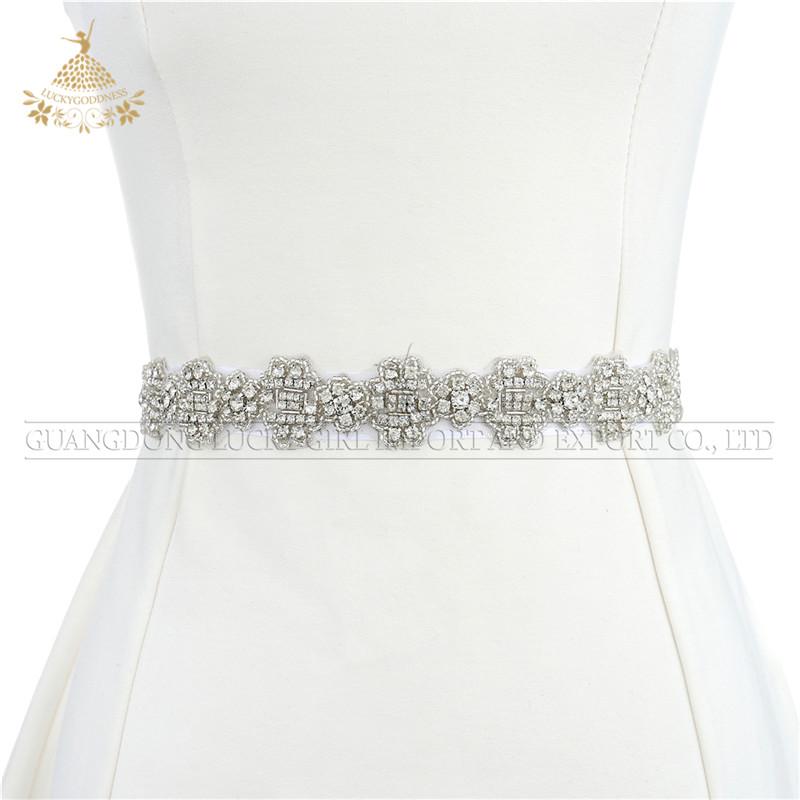 Hoge Kwaliteit Crystal Bruids Appliques Voor Trouwjurk Riem Vrouwen Jurk Sash