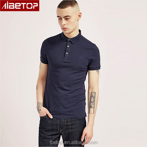 Man traditional three buttons pique cloth 100% cotton embroidered custom polo shirts wholesale china