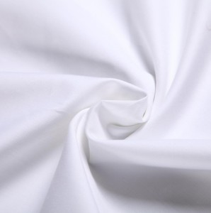 100% cotton white satin and calico print fabric