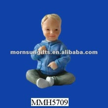 lively handicrafts resin baby figurines