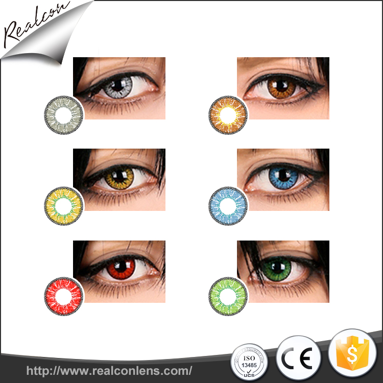 Realcon Wholesale Natural Contact Lenses cosmetic contact lenses Promotion Contact lenses