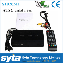 SYTA Hot FTA ATSC TV Converter Box Digital To Analog set top box FOR Canada ,Mexico and United States S1026M1