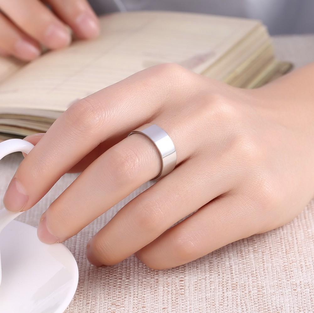 2017 Plain Islamic Silver Rings For Muslim Men Saudi Arabia Silver ...
