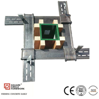 Q345B Steel Formwork Adjustable Column Clamp