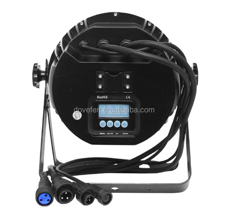 Stage Light 3in1 Rgb 54x3w Waterproof Par 64 Par Zoom Led