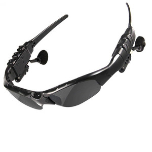Sport mp3 player bluetooth headset sunglasses