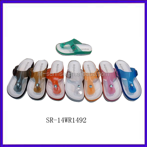 Sr-14wr1492 Women New Plastic Jelly Bean Slipper Shoes Women Jelly ...