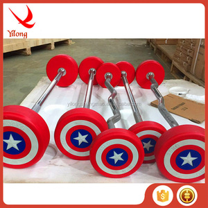 OEM factory colorful powerlifting barbell 30kg barbell set with best choice