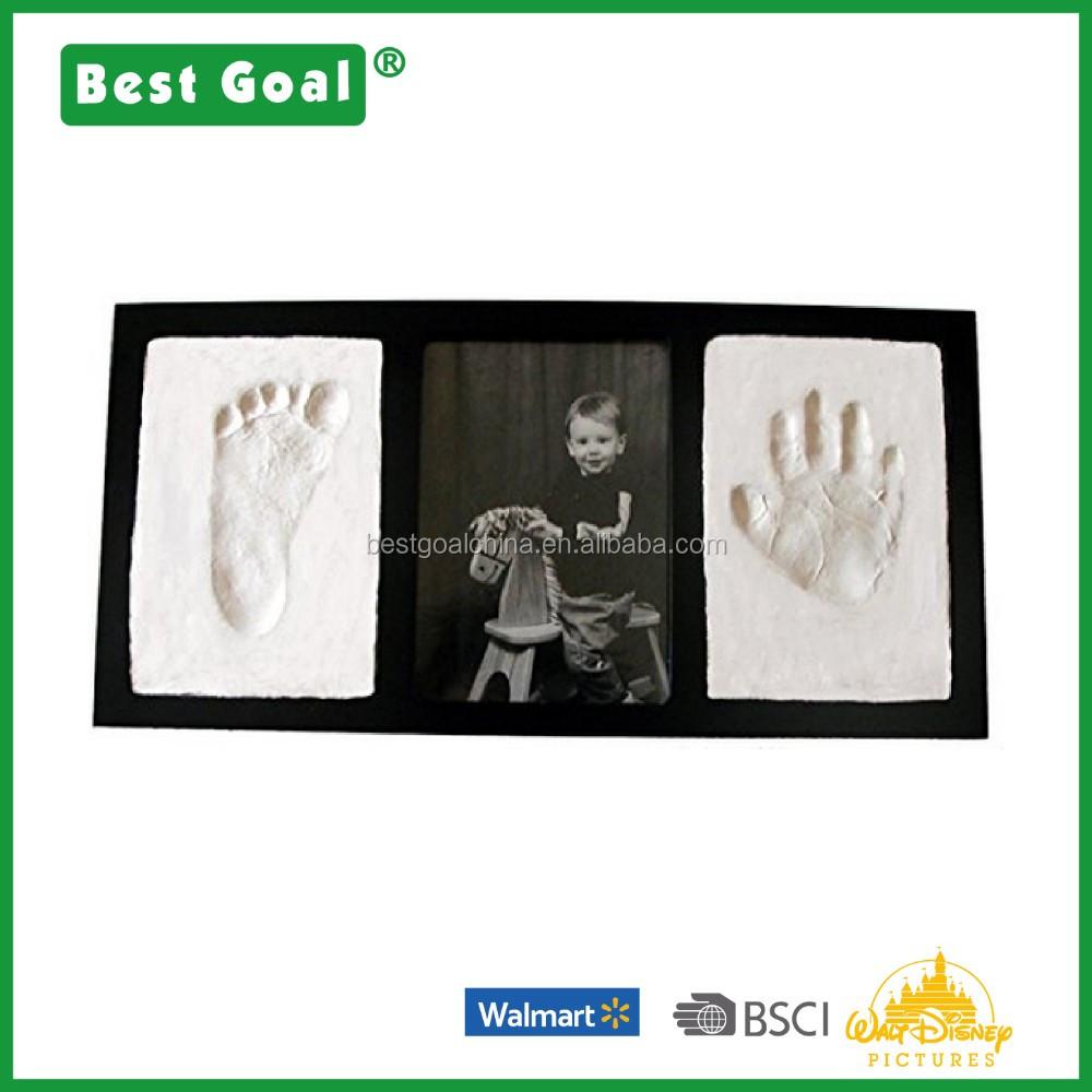 Ton Handabdruck & Footprint Andenken Foto Wandhalterung Rahmen - Buy ...