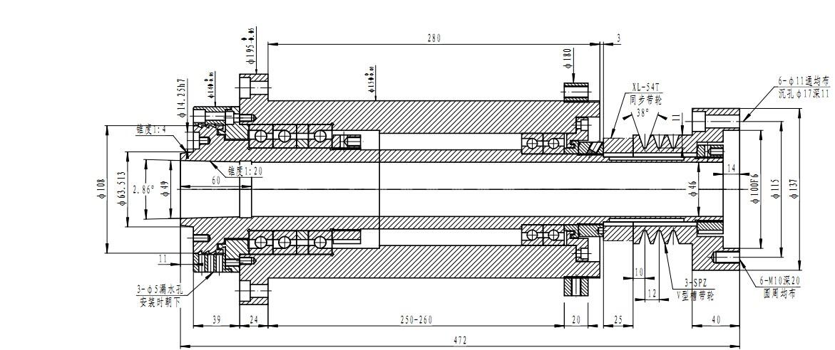 Cnc Turning Spindle Cnc Lathe Machine Spindle Assembly Cnc