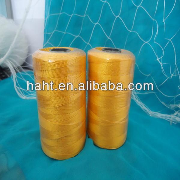 wear well Tensile strength 100% polyester fishing twine/net