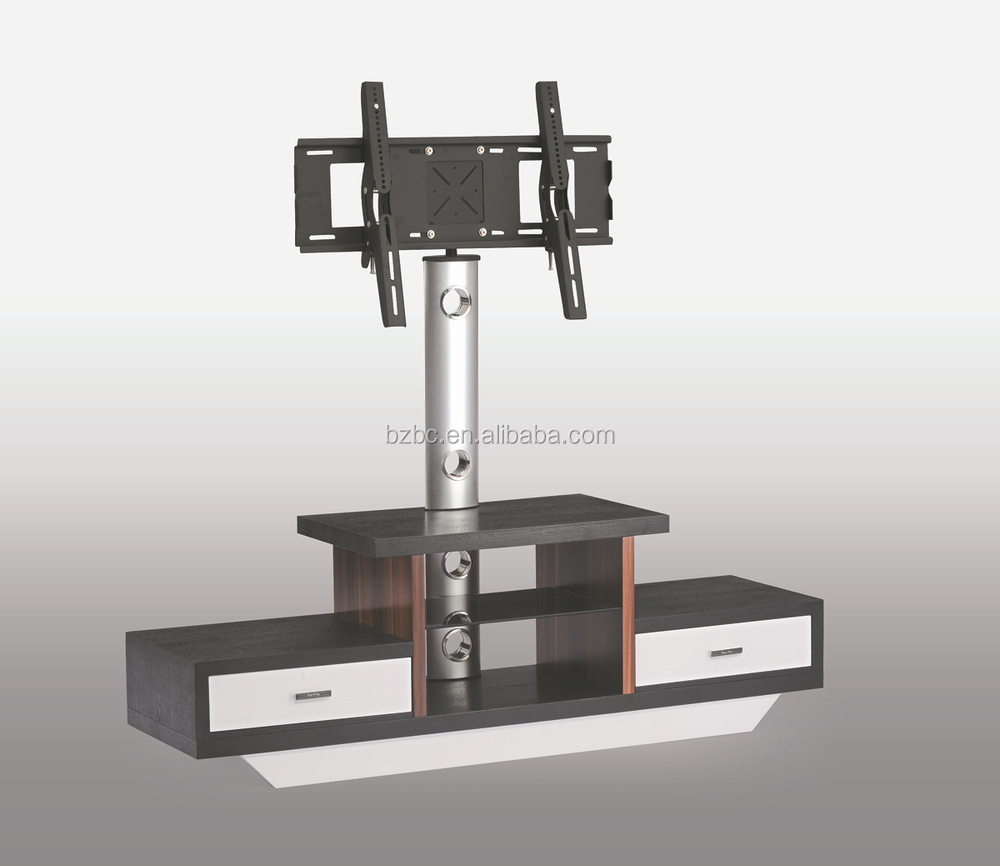 Living Room Lcd Tv Stand Wooden Furniture With Drawer