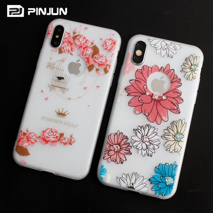 size 40 3783f 69d60 China Phone Case Manufacturer Fancy Mobile Covers For Iphone X Iphone 8,7  Plus Painted Diamond Tpu Case - Buy Fancy Mobile Covers,China Phone Case ...