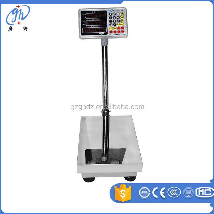 high precision load cell all stainless steel waterproof platform scale foldable