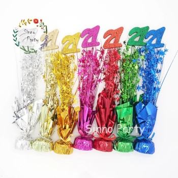 SINNO 21st Birthday Table Centerpieces Balloon Weight Party Supplies Wholesale