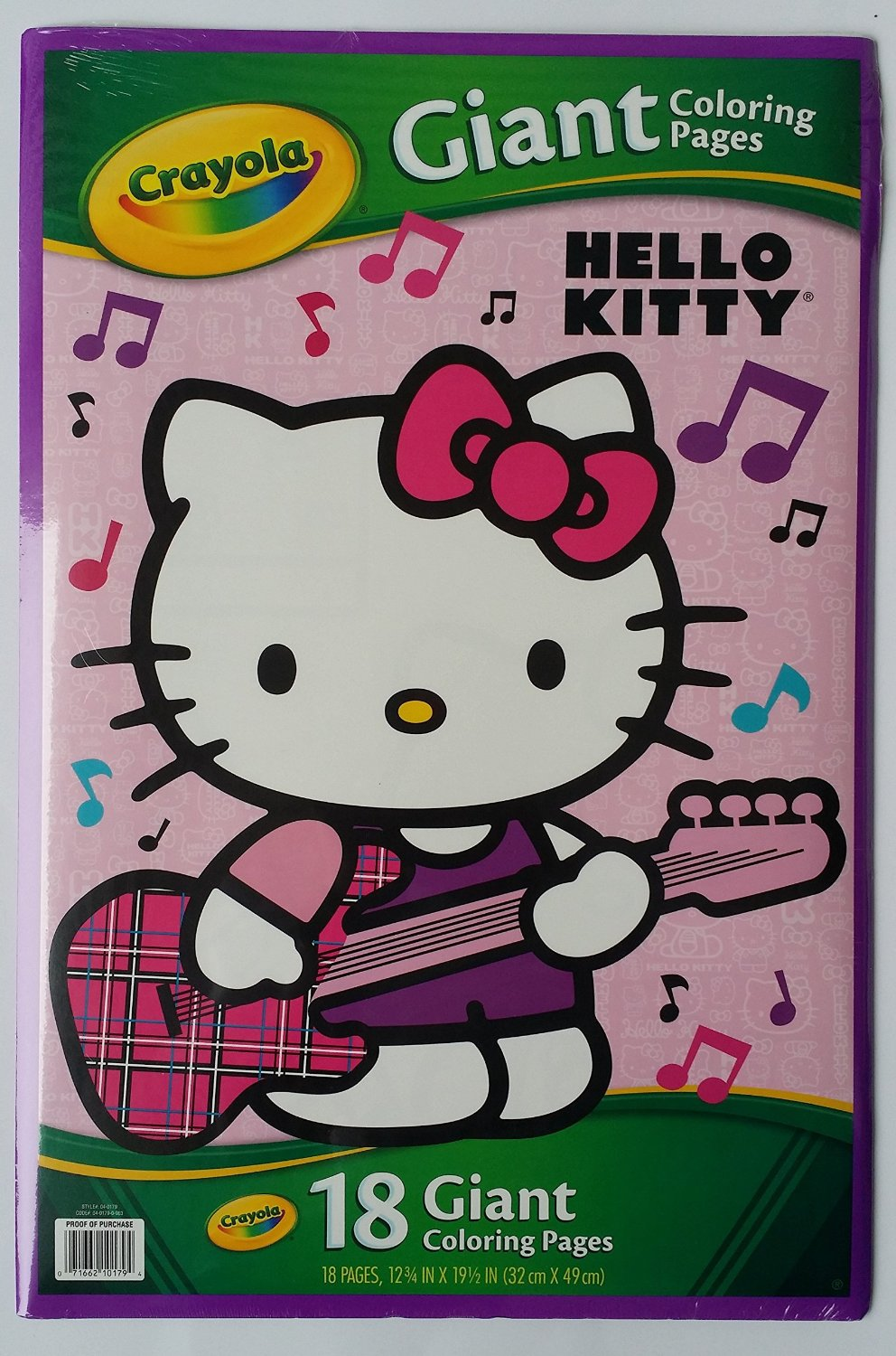 Crayola Hello Kitty Giant Coloring Pages Book 04 0179