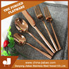 Stainless steel Rose Gold cutlery Set,knife fork and spoon tableware kitchen knives