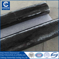 Asphalt material self adhesive waterproof membrane for roof