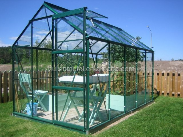 Perfect choice dwarfwall commerical halls glazing professional glass greenhouse gardening supplies of China