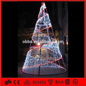 2014 New Indoor and outdoor Christmas tree led spiral tree lights IP44 - 2014 New Indoor And Outdoor Christmas Tree Led Spiral Tree Lights