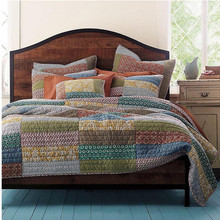 Beddengoed set katoen patchwork quilt handgemaakte <span class=keywords><strong>quilts</strong></span>