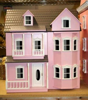 Luxury Wooden Children Doll House Toy