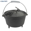 Camp Chef Seasoned Cast Iron Dutch Oven - 12 Inch Deep cooking pot