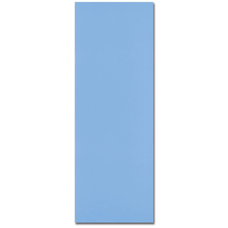 15-ft. x 30-ft. Oval Overlap Above Ground Pool Liner - 30 Gauge - Solid Blue
