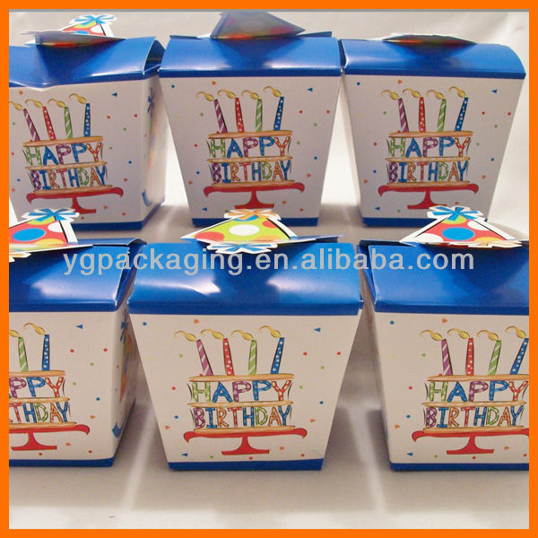 Birthday Party Favour Boxes - Birthday Party/baby Shower Goody ...