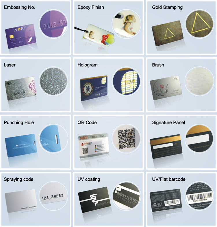 Embossing machine business card/business card printing