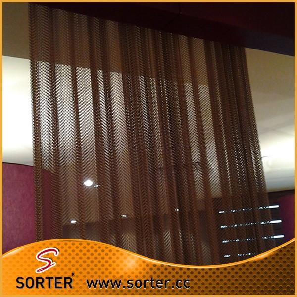 Hot Sale Metal Mesh Curtain Coil Drapery Buy Metal