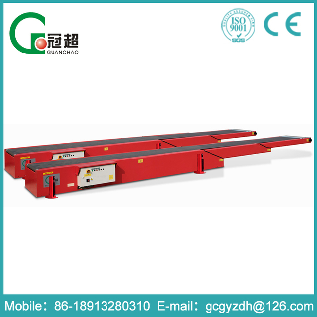 GUANCHAO-ISO certificate approved Easy to use ce certificated cement industry belt conveyor