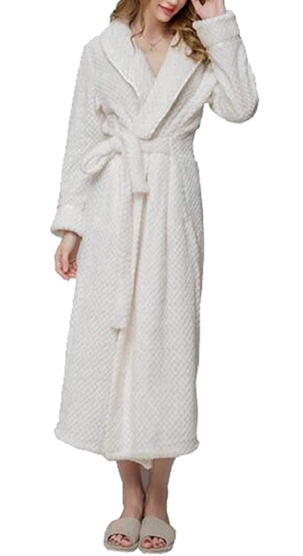 Get Quotations · GAGA Womens Bathrobe Cotton Robe Soft Kimono Spa Knit Bathrobe  Lightweight with Belt 90822ee6c