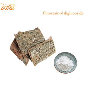 High quality pure natural 98% Eucommia ulmoides Oliver extract Pinoresinol diglucoside powder CAS 63902-38-5