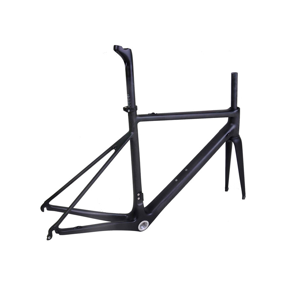 Factory Price China Baolijia OEM Super Light DI2 Bicycle Parts 904g bike frames Japan Carbon Road Bike Frames R02 For Sales