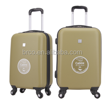 Army Green Color Popular Travel Trolley Luggage Cool Carry On ...