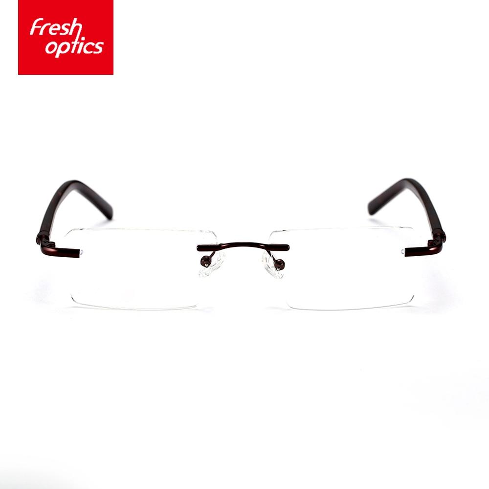 TT3644 Homem Elegante Seus Óculos Sem Aro, Homens Vidros Ópticos ... 3aa806cc75