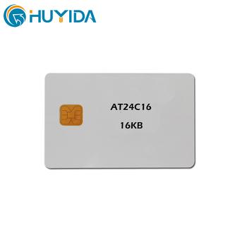 Smart Card 64k Atmel At24c64 Contact Chip Smart Card Buy Smart
