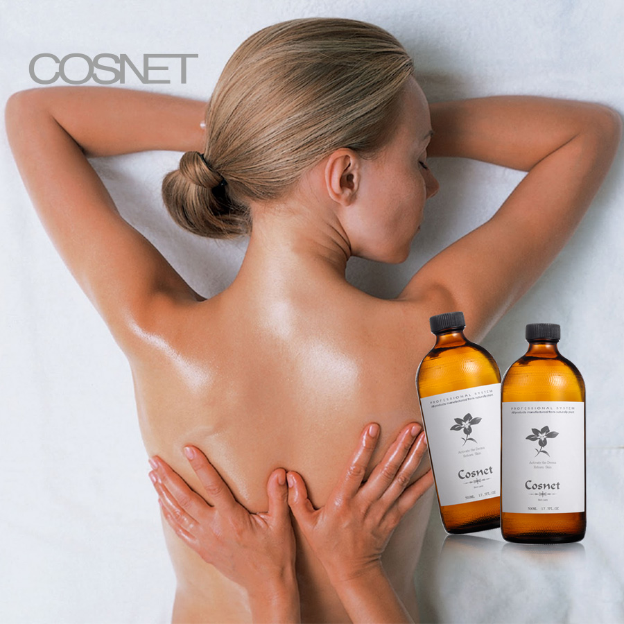 COSNET pure essentiële lavendel rose body detox massage olie private label
