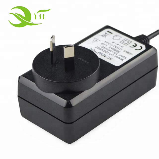 18V 1A AC/DC Adapter Power Supply Cord Cable Charger with OD: 5.5mm x ID: 2.1mm