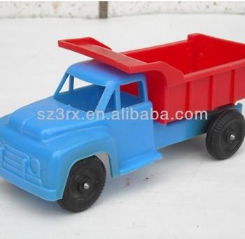 vintage plstico volcado camin de juguete para nios grandes camiones de juguete de plstico
