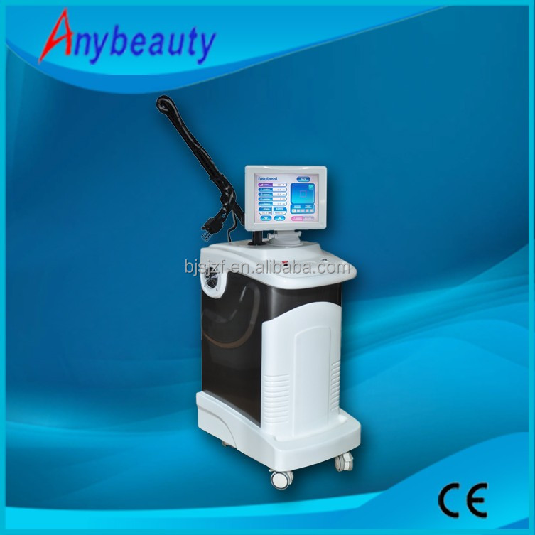Most professional medical equipment skin resurfacing 10600nm vertical co2 fractional laser beauty
