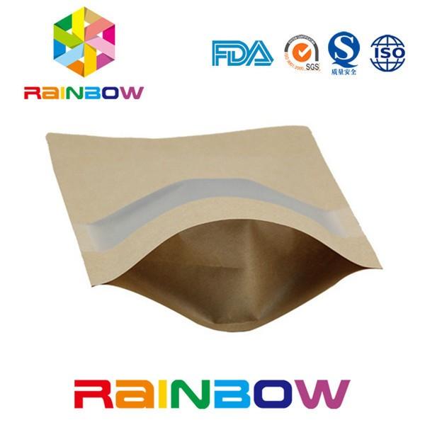 Laminated Kraft Paper Tea Bag With Tear Notch/kraft Aluminum Foil ...